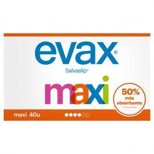 Salvaslip maxi  evax 40ud