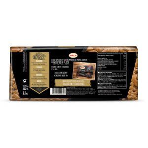 Chocolate negro 70% almendra valor  250g