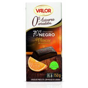 Mousse sin azucar naranja valor  150g