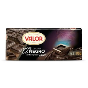 Chocolate negro 82% valor  170g