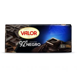 Chocolate negro 92% cacao valor  170g