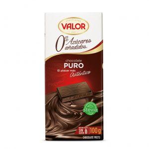Chocolate sin azucar puro valor 100gr
