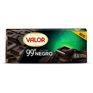 Chocolate negro 99% valor 170gr