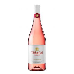 Vino rosado viñasol botella 75cl