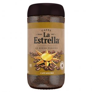 Cafe soluble natural la estrella 200 gr