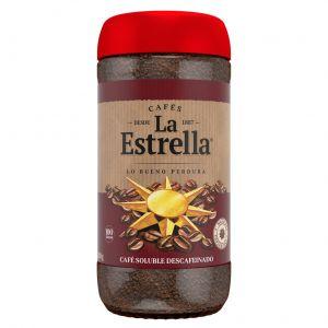 Cafe soluble descafeinado la estrella 200 gr