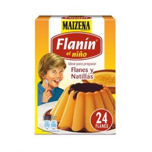 Preparado flan flanin el niño maizena 6 sobres 32g