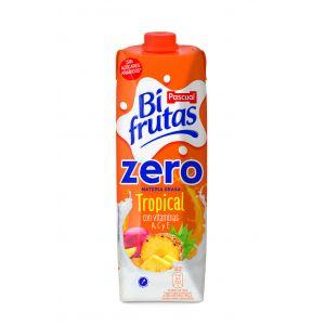 Bi frutas  zero tropical pascual  brick 1l