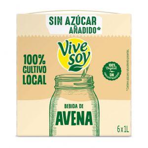 Vivesoy avena s/azuzar 1l