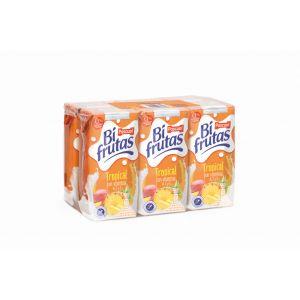 Bi frutas  tropical pascual  brick p-6 20cl