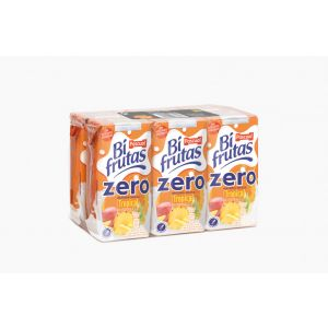 Bi frutas zero tropica pascual  brick p6 20cl