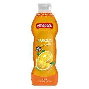 Zumo con pulpa de naranja zumosol 75cl