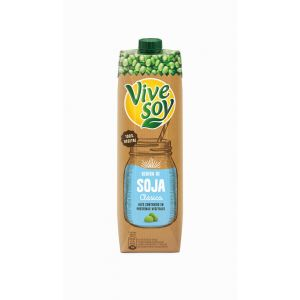 Bebida soja vivesoy brick 1l