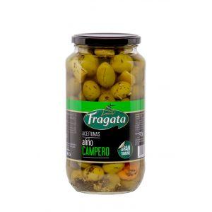 Aceituna c/hueso campero fragata tarro 595gr
