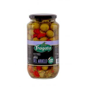 Aceituna c/hueso abuelo fragata tarro 595gr