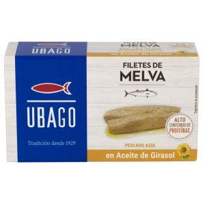 Filete melva aceite girasol ubago 115gr 85gne