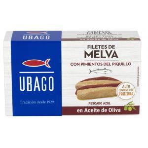 Melva con pimientos de piquillo ubago 85g