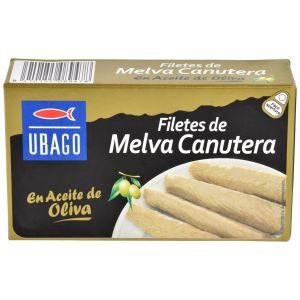 Filetes de melva canutera en aceite de oliva ubago 85g