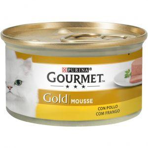 Comida gato pollo gourmet gold  85g