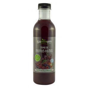 Zumo refrigerado de frutos rojos summum pet 750ml
