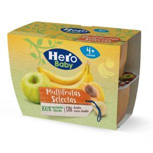 Tarrito fruta multifruta hero p4x 100g