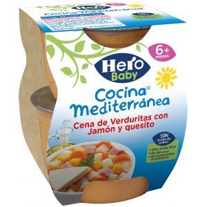 Tarrito c.medit verd queso hero  p2x200g
