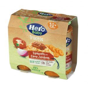 Tarrito  espaguetti carne verd hero  p2x250g