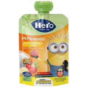 Pouch merienda plat fresa hero nanos  100g