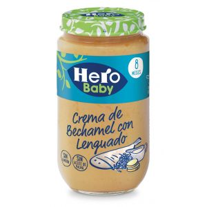 Tarrito  lenguado bechamel hero  235g