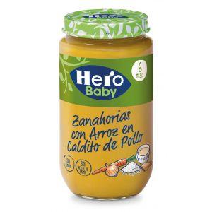 Tarrito  zanahoria arroz hero  235g