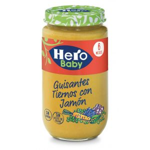 Tarrito  jamon guisantes hero  235g