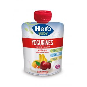 Pouch  multifruta yogurines hero 80g