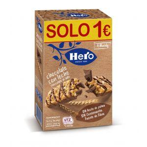 Barrita muesly choco leche hero p-4x 25gr
