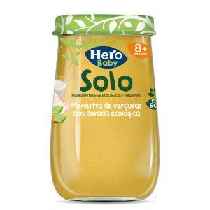 Tarrito bio menestra verd dorada hero  190g