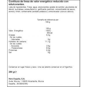 Confiruta diet fresa hero 280g