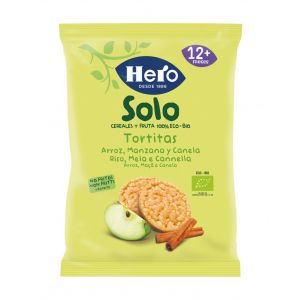 Tortita arroz eco manz/cane hero solo 50gr