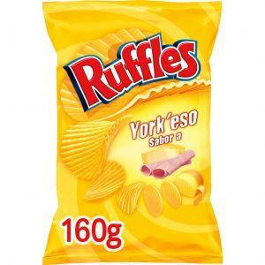 Patatas fritas york y queso ruffles 160g