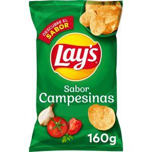 Patatas fritas campesina lays 160g