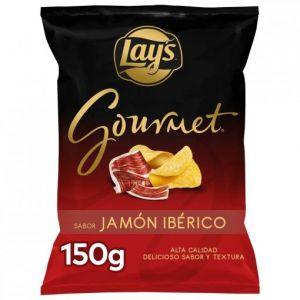 Patatas fritas jamon iberico lays gourmet 150gr