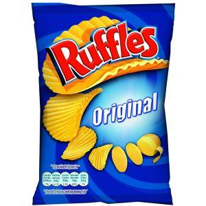 Patatas fritas onduladas ruffles  160g
