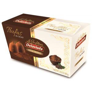 Trufas al cacao delaviuda caja 100g