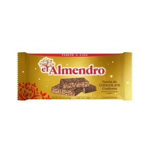 Turron clasico de chocolate el almendro 285g