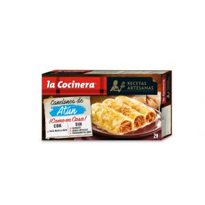 Canelones  atun la cocinera 530g