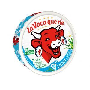 Queso porciones vaca que rie light 16 unidades 250g