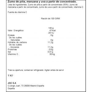 Zumo de piña-uva don simon brik 1l