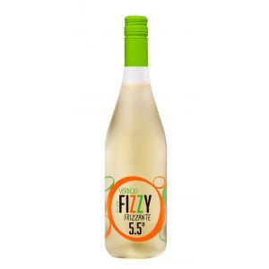 Vino frizzante verdejo fizzy 5.5 botella de 75cl