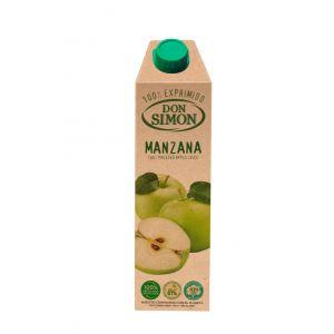 Zumo exprimido de manzana don simon 1l