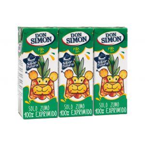 Zumo exprimido de piña-uva don simon p-3 20cl