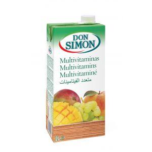 Bebida refrescante multifrutas don simon brick 2l