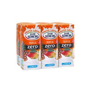 Bebida funcional de frutas tropical don simón brik pack de 6 unidades de 20cl